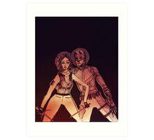 ELEKTRA // DAREDEVIL Art Print