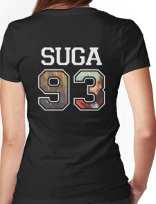 BTS - Suga 93 Womens Fitted T-Shirt