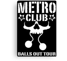 METRO CLUB Canvas Print