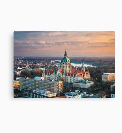 City Hall of Hannover, Germany Canvas Print