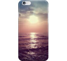 Sunset in Athens iPhone Case/Skin