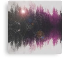 Abstract purple Canvas Print