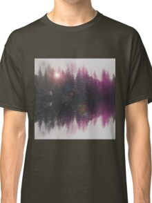 Abstract purple Classic T-Shirt
