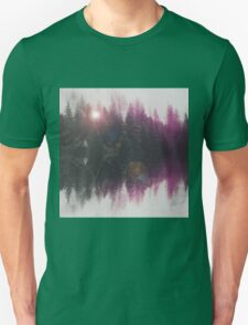 Abstract purple T-Shirt