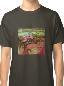 """Here Begins The Journey Towards Sky"" from the series ""In the Lotus Garden"" Classic T-Shirt"