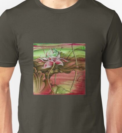 """Here Begins The Journey Towards Sky"" from the series ""In the Lotus Garden"" Unisex T-Shirt"