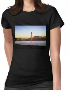 Painted Bridge Womens Fitted T-Shirt