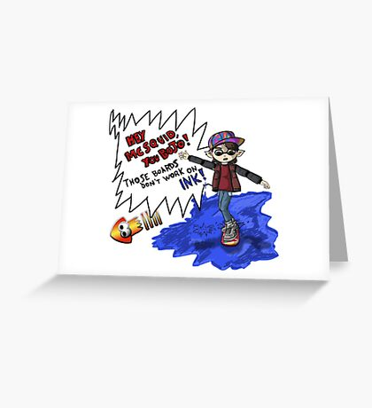 Marty McSquid Greeting Card
