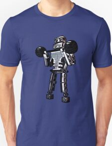 Pumping Iron at Robbie's Gym! Unisex T-Shirt