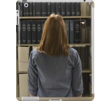 Looking for Books iPad Case/Skin