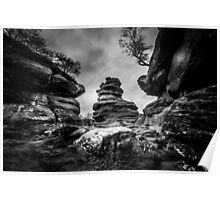Rocks and Boulders Poster