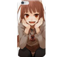Spice and Wolf Holo iPhone Case/Skin