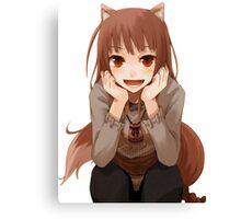 Spice and Wolf Holo Canvas Print