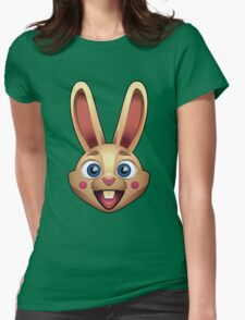 Happy Rabbit Womens Fitted T-Shirt