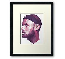 Le Bron James Framed Print