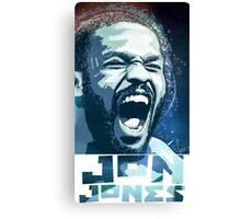 Jon Jones Canvas Print