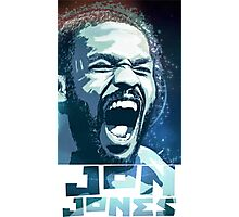Jon Jones Photographic Print