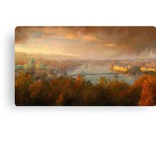 View of Budapest Canvas Print