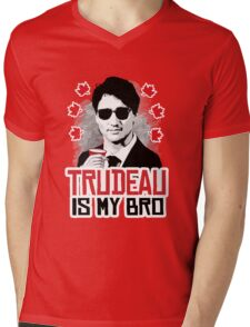 Trudeau is my Bro Mens V-Neck T-Shirt