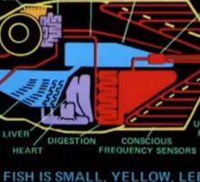 Babel fish Sticker