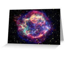 Space Nebula Greeting Card