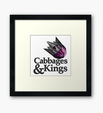 Cabbages & Kings Podcast Framed Print