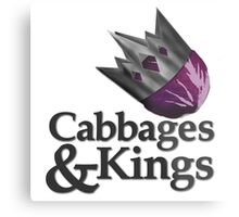 Cabbages & Kings Podcast Metal Print