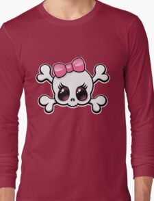Cute Skull Long Sleeve T-Shirt