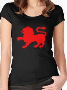 State Badge of Tasmania Women's Fitted Scoop T-Shirt