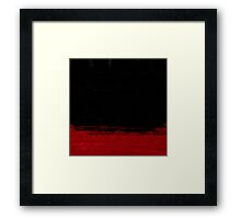 Binary 2 Red Framed Print