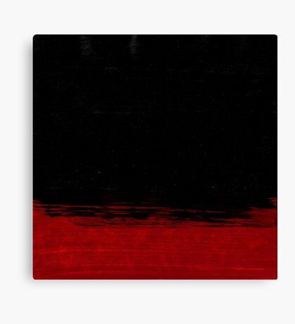 Binary 2 Red Canvas Print