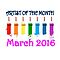 Artist of the month - March 2016