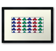 Car pattern Framed Print