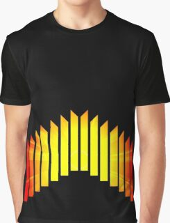 Abstract Blocks Graphic T-Shirt
