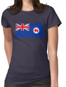 Flag of Tasmania Womens Fitted T-Shirt