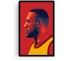 Le Bron James Canvas Print