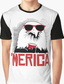 'Merican Eagle Graphic T-Shirt
