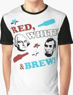 Red White and Brew Graphic T-Shirt