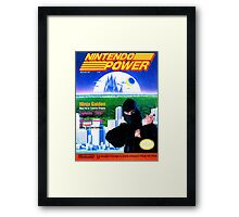 Nintendo Power - March/April 1989 Framed Print