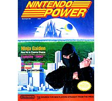 Nintendo Power - March/April 1989 Photographic Print