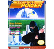 Nintendo Power - March/April 1989 iPad Case/Skin