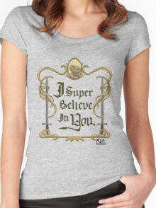 Galavant: I Super Believe in You Women's Fitted Scoop T-Shirt