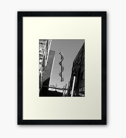 Suspension of Disbelief Framed Print
