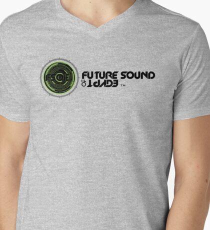 Future Sound of Egypt Aly Fila FSOE Mens V-Neck T-Shirt