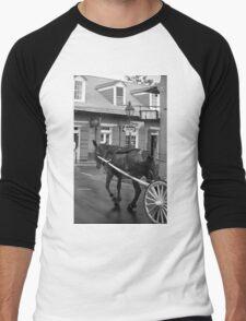 New Orleans Street Photography 3 Men's Baseball ¾ T-Shirt