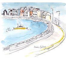 Skerries Harbour, Dublin, Ireland Photographic Print