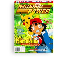 Nintendo Power - Volume 125 Canvas Print