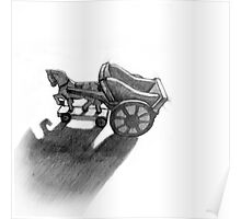 Ross Morgan - Toy Horse and Cart Poster