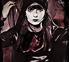 Louise Brooks in Purple Veils by diane  addis