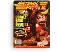 Nintendo Power - Volume 66 Canvas Print